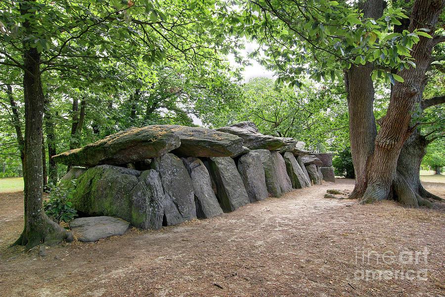 Dolmen La Roche-aux-Fees - Fairies' Rock - the most famous dolmens in Brittany by Michal Boubin