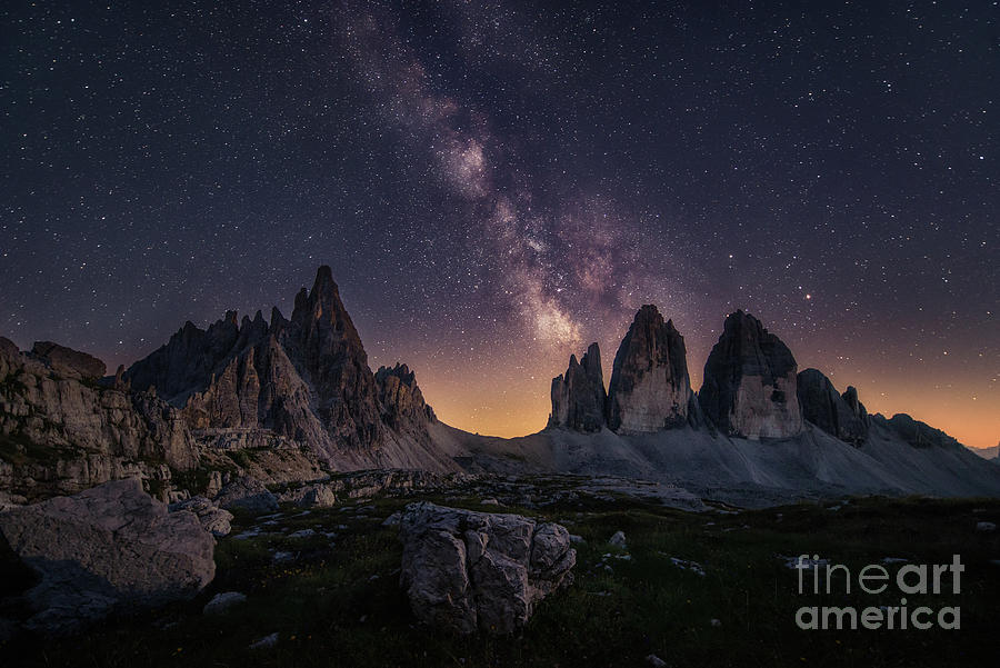 Dolomite Star Trek Photograph by Stanley Chen Xi, Landscape And Architecture Photographer