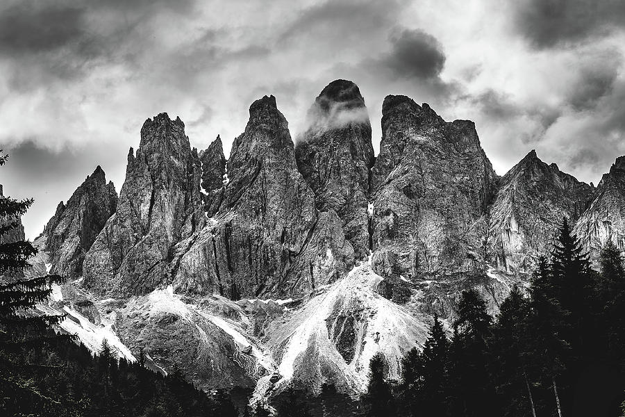 Dolomites Photograph - Dolomites by Andrei Dima