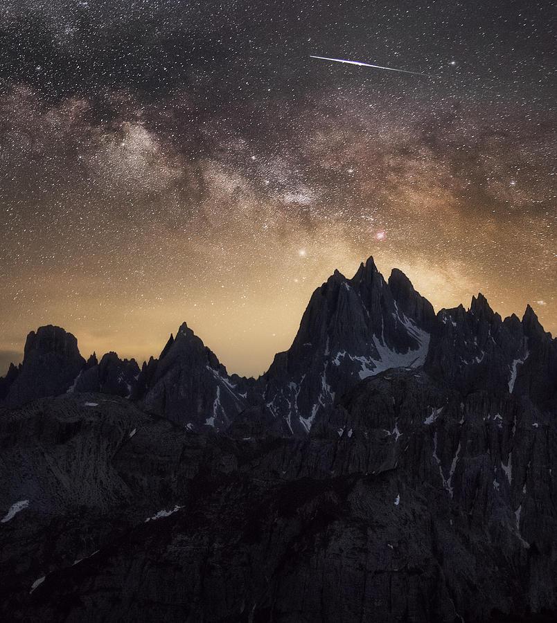 Dolomites, Italia Digital Art