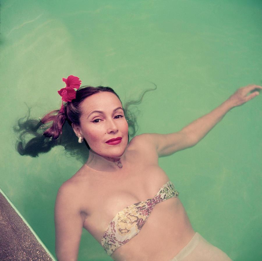 Dolores Del Rio Photograph by Slim Aarons