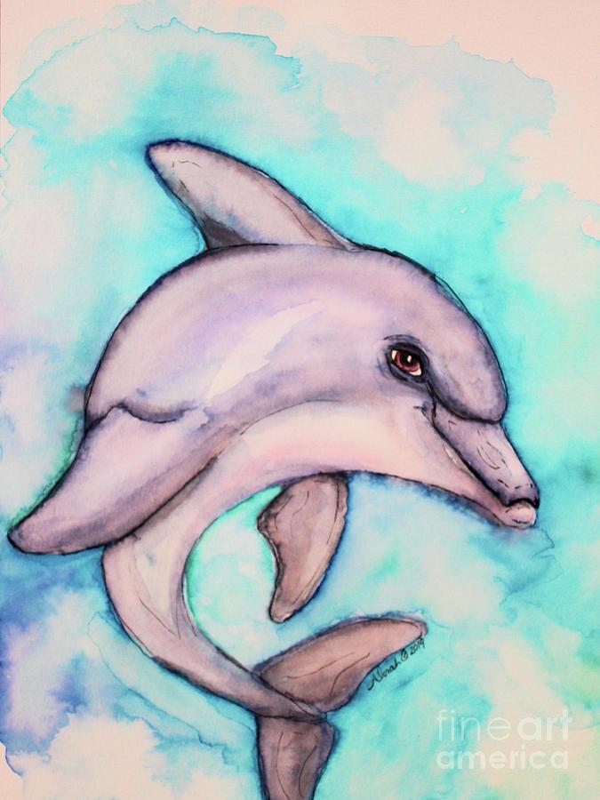 Dolphin Fun by Alorah Tout