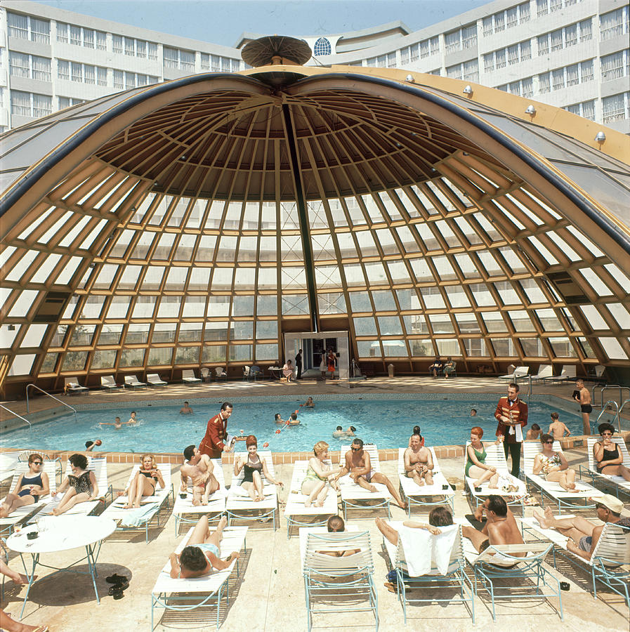 Dome-covered Pool