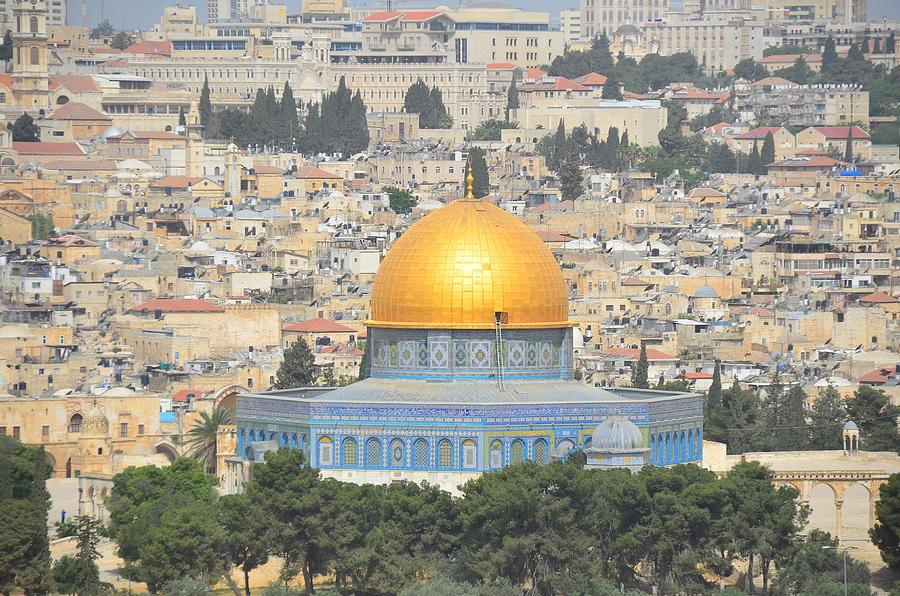 Dome Of Rock Jerusalem, Israel Photograph by David Dawson Image
