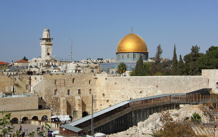 Dome Of The Rock, Jerusalem Photograph by Nathan Harrison
