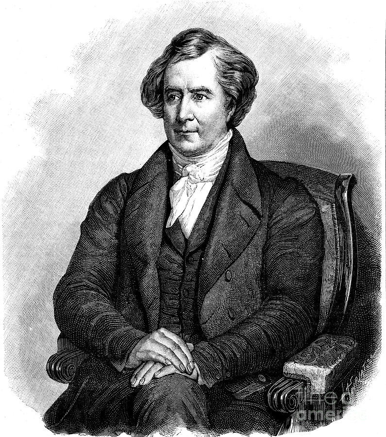 Dominique Francois Jean Arago Drawing by Print Collector