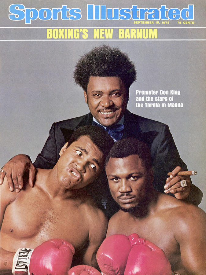 Don King, Muhammad Ali, And Joe Frazier Sports Illustrated Cover Photograph by Sports Illustrated