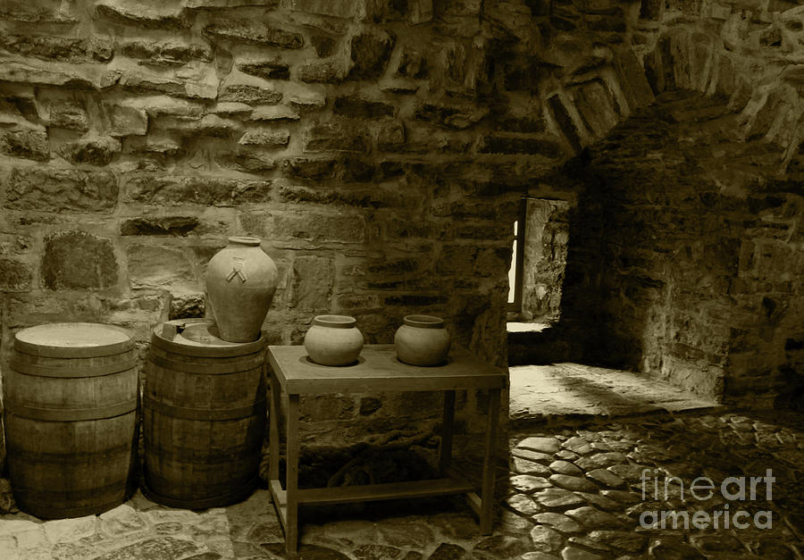 Donegal Castle Interior Tint by Eddie Barron