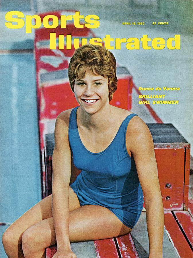 Donna De Varona, Swimming Sports Illustrated Cover Photograph by Sports Illustrated