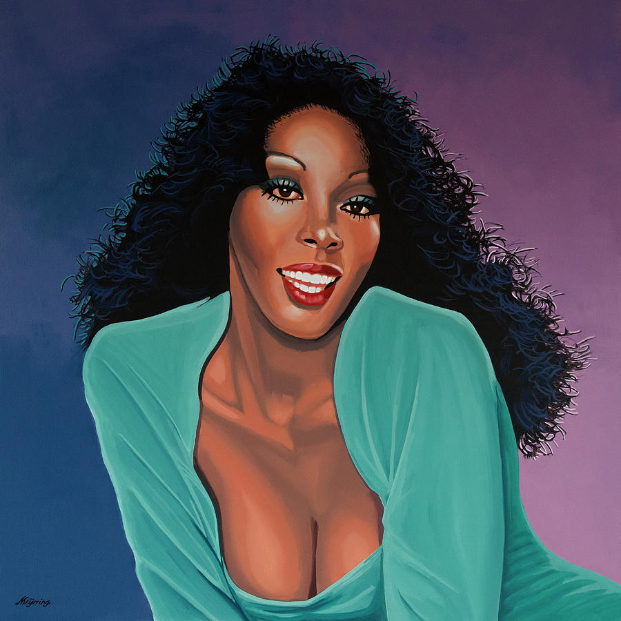 Donna Summer Painting by Paul Meijering