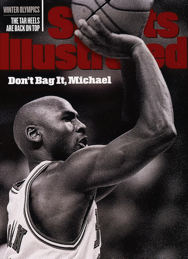 Dont Bag It, Michael Sports Illustrated Cover Photograph by Sports Illustrated