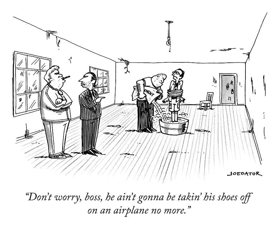 Dont Worry, Boss Drawing by Joe Dator
