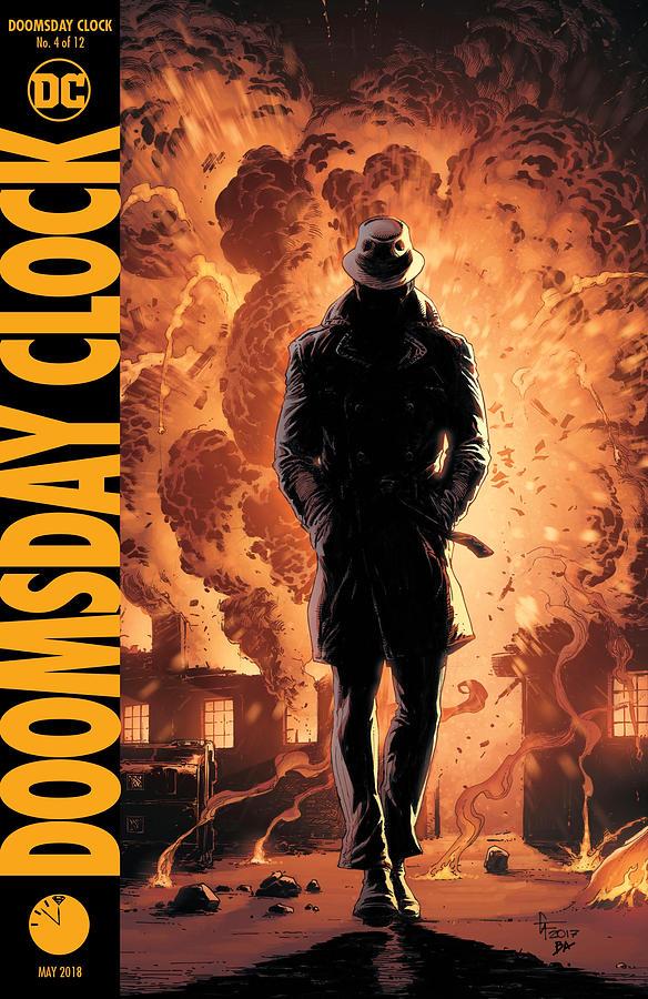 Batman Digital Art - Doomsday Clock 4  Dc by Geek N Rock