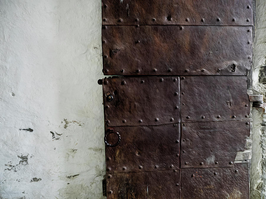 Door at Kristiansten Fortress in Trondheim, Norway by Whitney Leigh Carlson