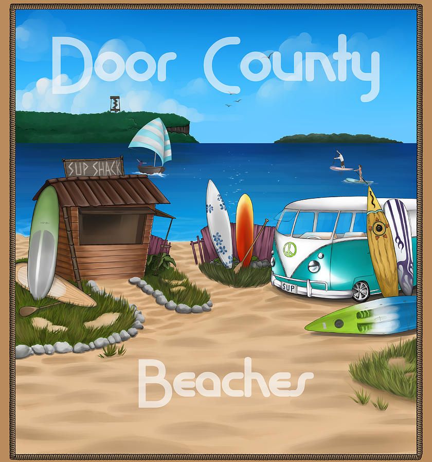 Door County Beaches by Door County Social Creative Team