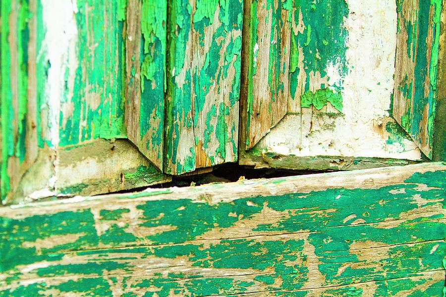 Door in decay by Jason Hughes