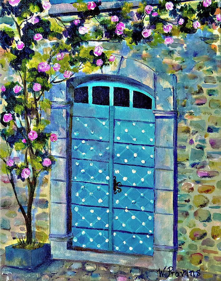 Door in Paris by Wendy Provins