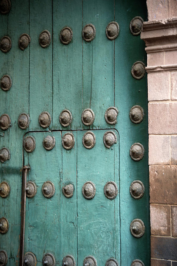 Door Of Cathedral Of Santo Domingo Photograph by Fotosearch