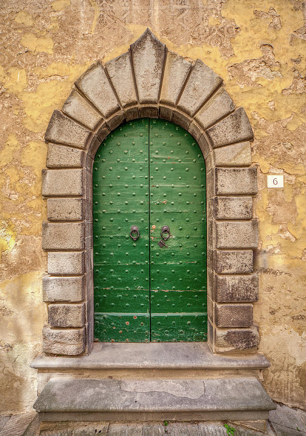 Door Six of Cortona by David Letts