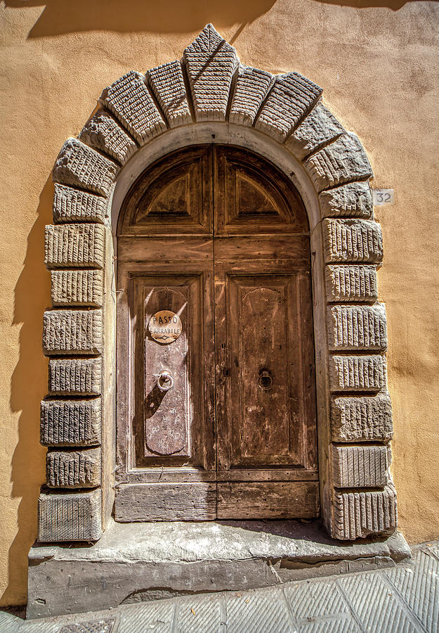 Door Thirty Two of Tuscany by David Letts