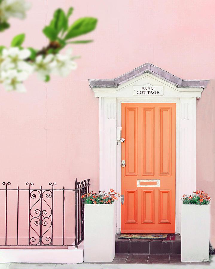 Door to pastel heaven by Gabor Estefan