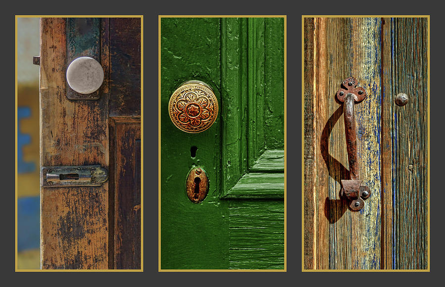 Doors Collage by Nikolyn McDonald