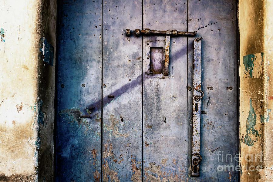 Doors of India - Blue Door Detail 2 by Miles Whittingham
