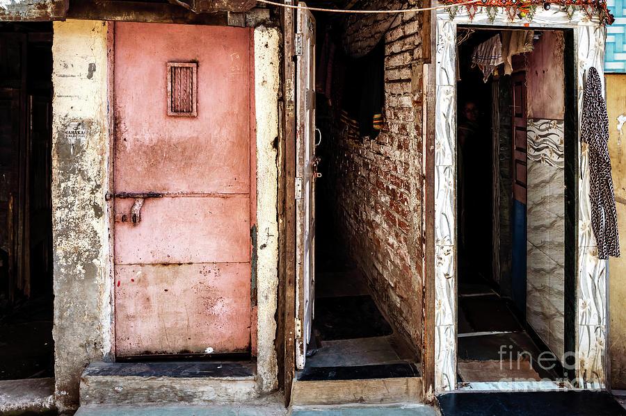 Doors of India - Dharavi Slum Doors by Miles Whittingham