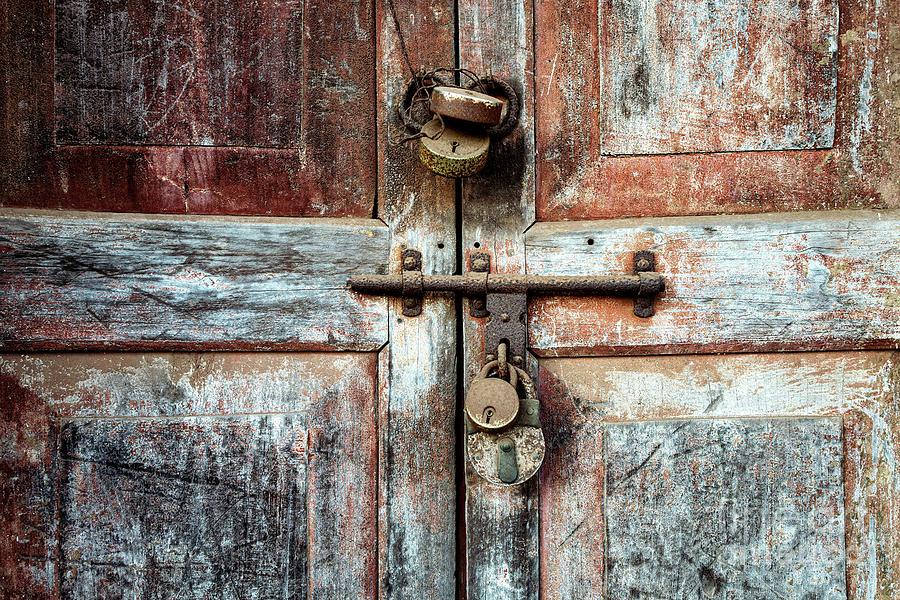 Doors of India - Four Lock Door by Miles Whittingham