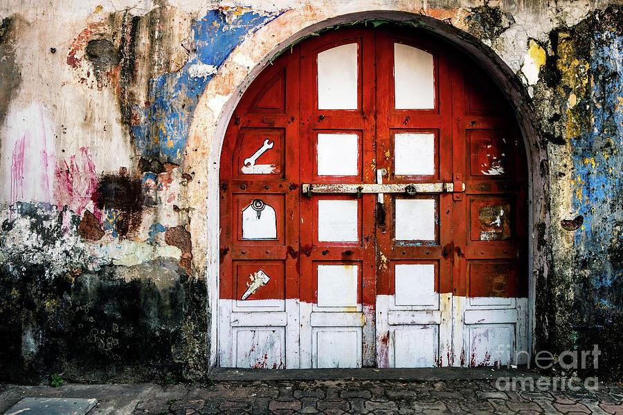 Doors of India - Garage Door by Miles Whittingham