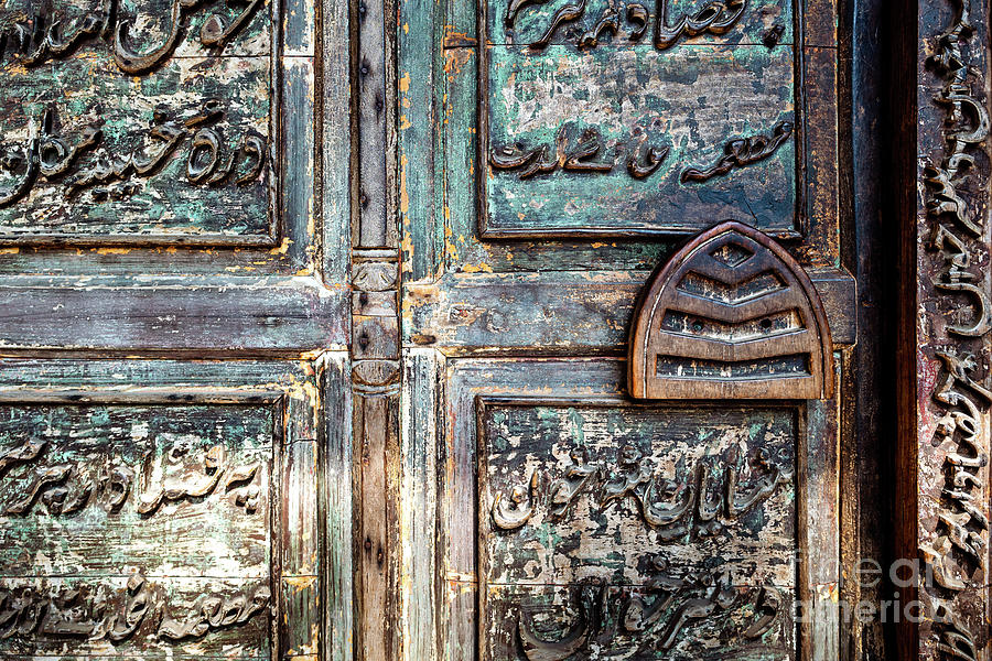 Doors of India - Green Temple Door by Miles Whittingham