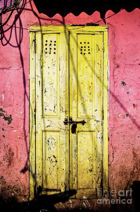 Doors of India - Yellow Door by Miles Whittingham