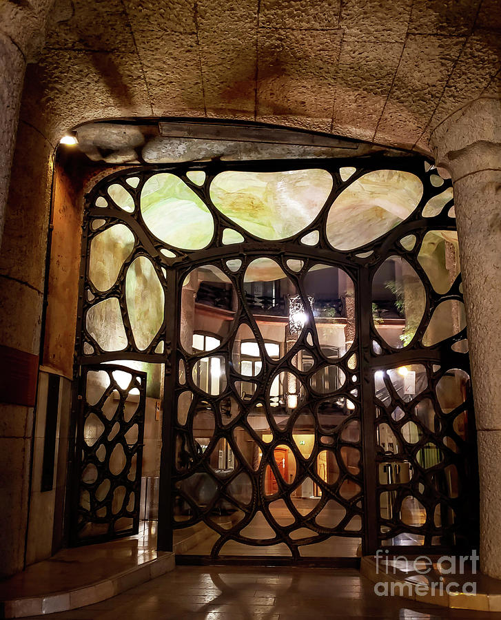 Doorway Casa Mila by Mary Capriole