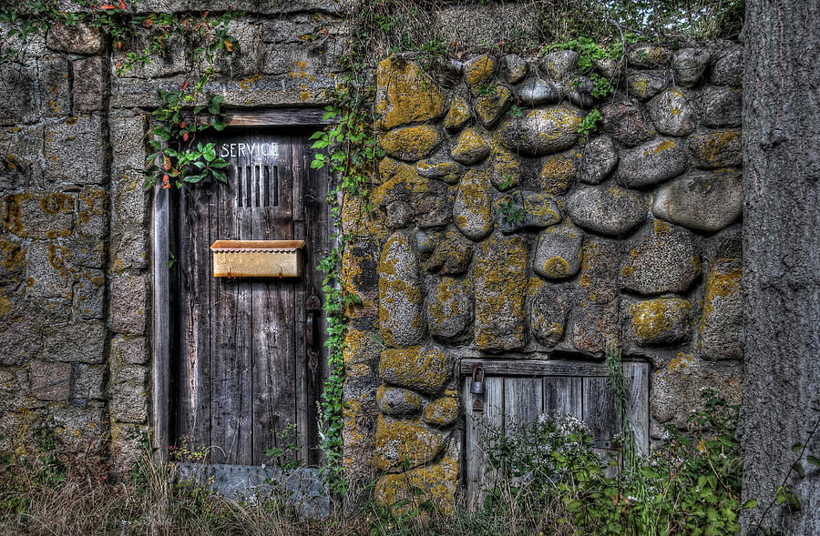 Stone Photograph - Doorway Through Time by Liz Mackney