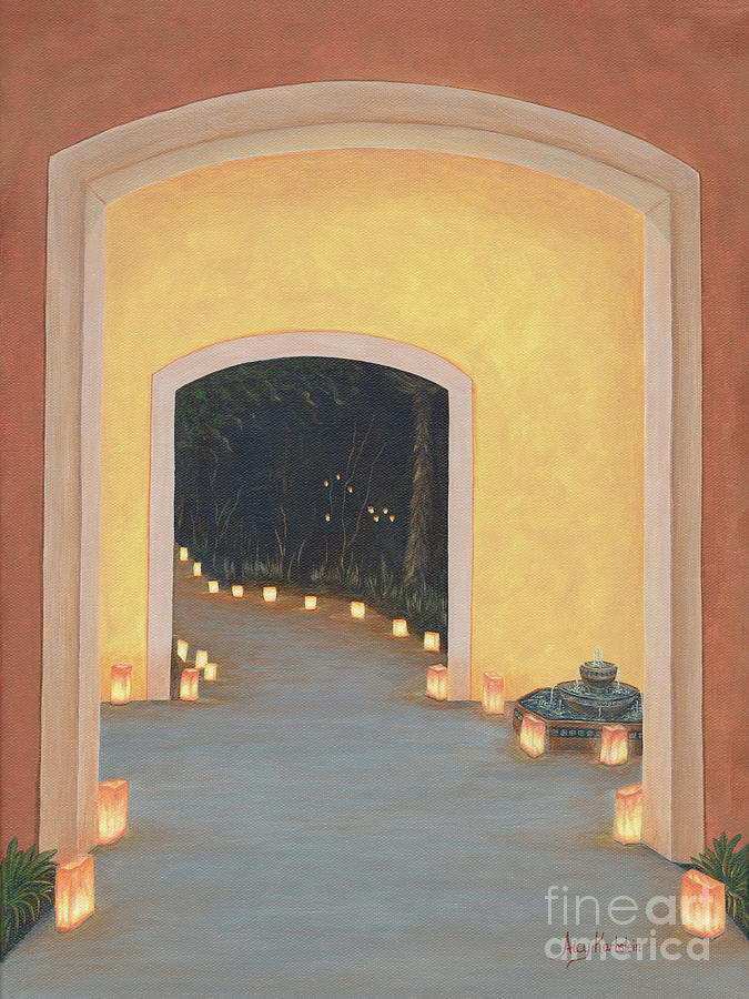 New Painting - Doorway To The Festival Of Lights by Aicy Karbstein