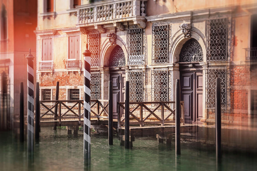 Venice Photograph - Doorways Of The Grand Canal Venice Italy  by Carol Japp