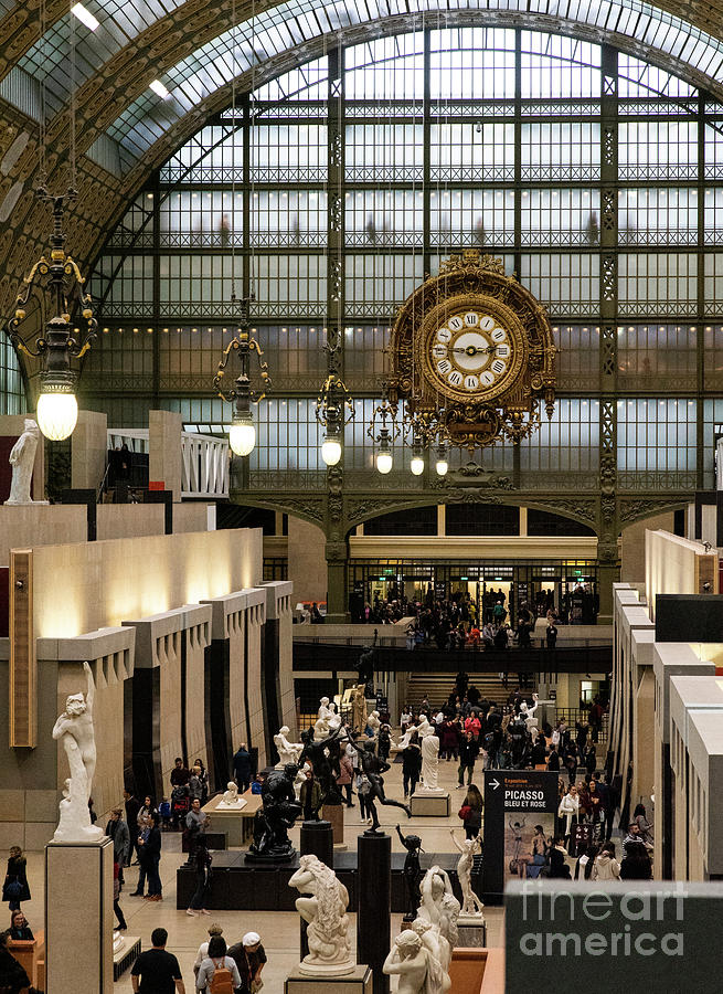DOrsay Museum Paris France Train Station History by Wayne Moran