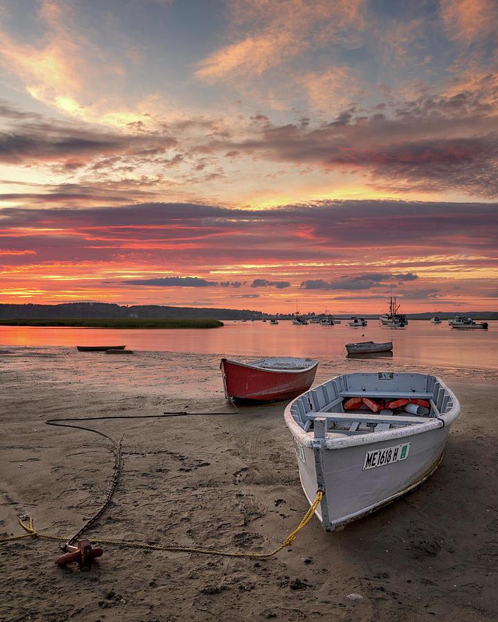 Dory Sunset on Pine Point by Darylann Leonard Photography