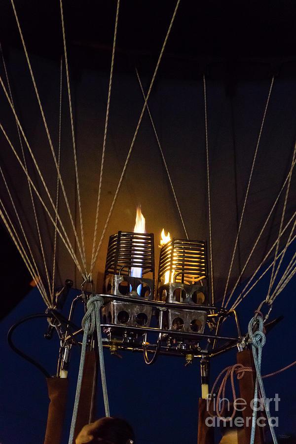 Double Burner Balloon by Jennifer White