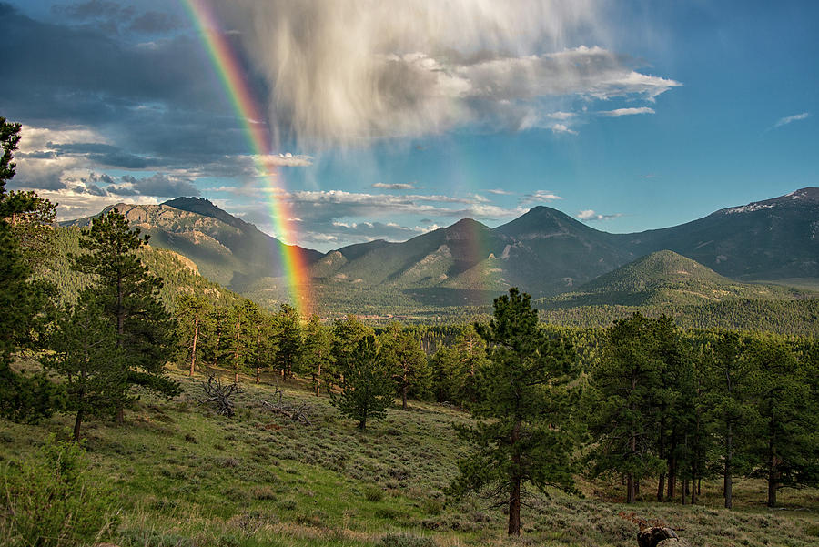 Double Rainbow by Darlene Bushue