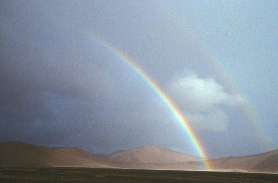 Double Rainbow, Namibia by DAVID HOSKING