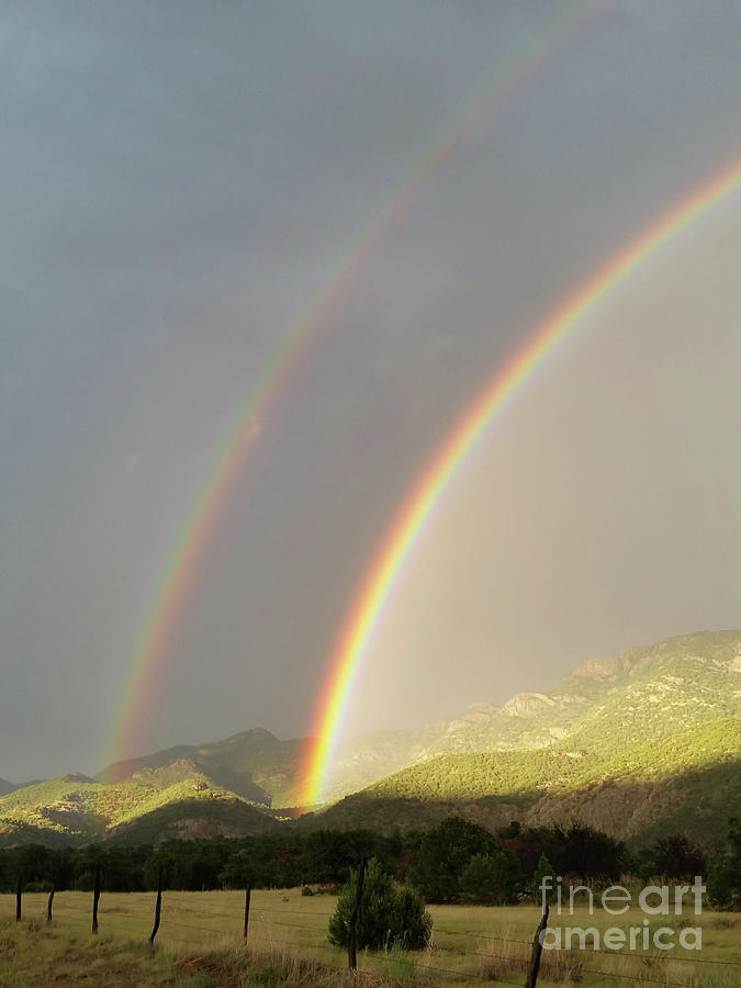 Double Rainbow by Tony Baca