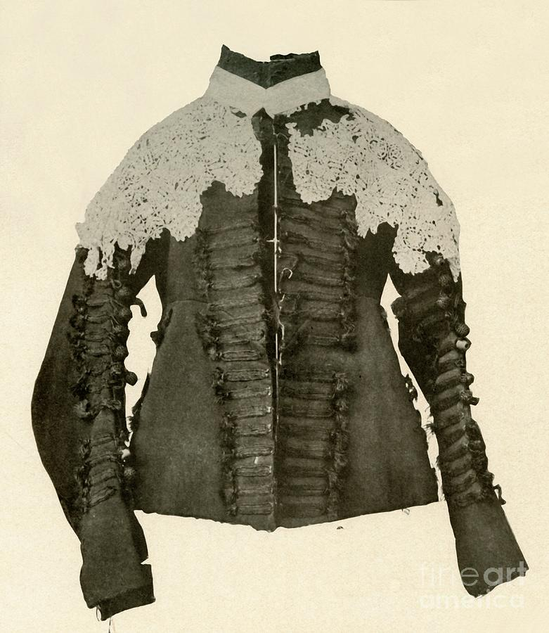 Doublet Of Black Cloth Trimmed Drawing by Print Collector