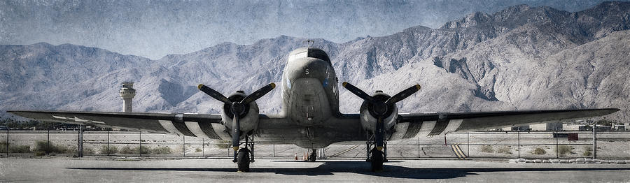 Douglas C-47 Skytrain by Sandra Selle Rodriguez