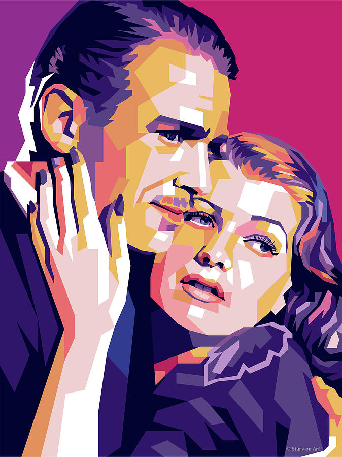 Douglas Fairbanks Jr. And Rita Hayworth Digital Art