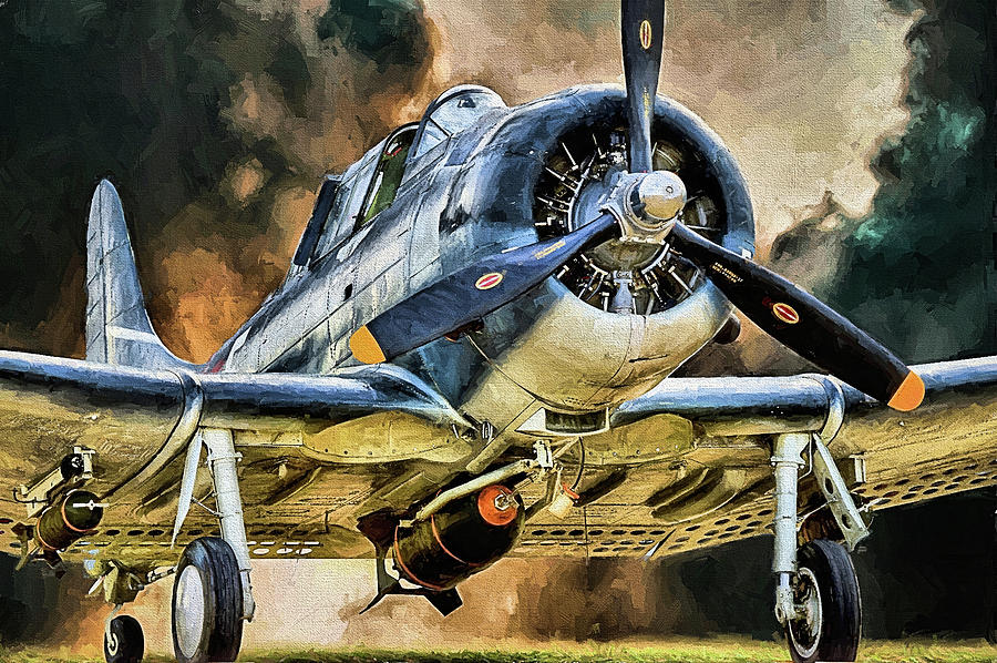 Douglas SBD Dauntless by JC Findley