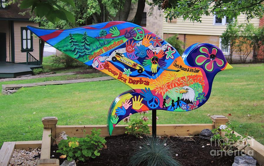 Dove In Liberty by Karen Silvestri