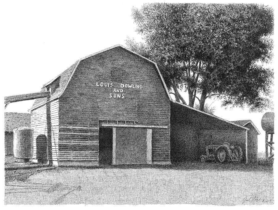Dowling Corn Crib by Joel Lueck