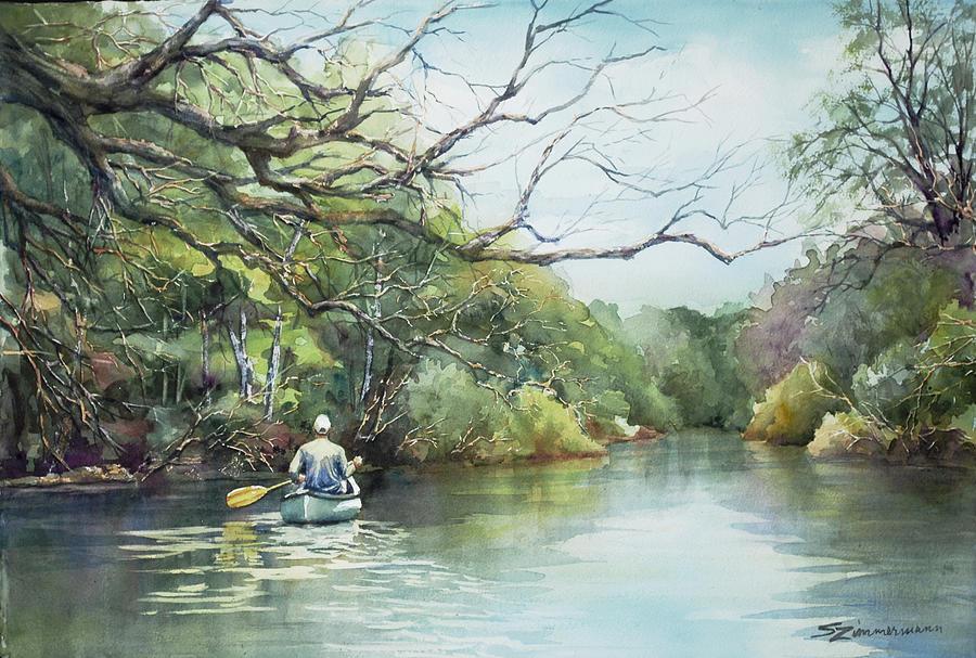 Down River by Sue Zimmermann