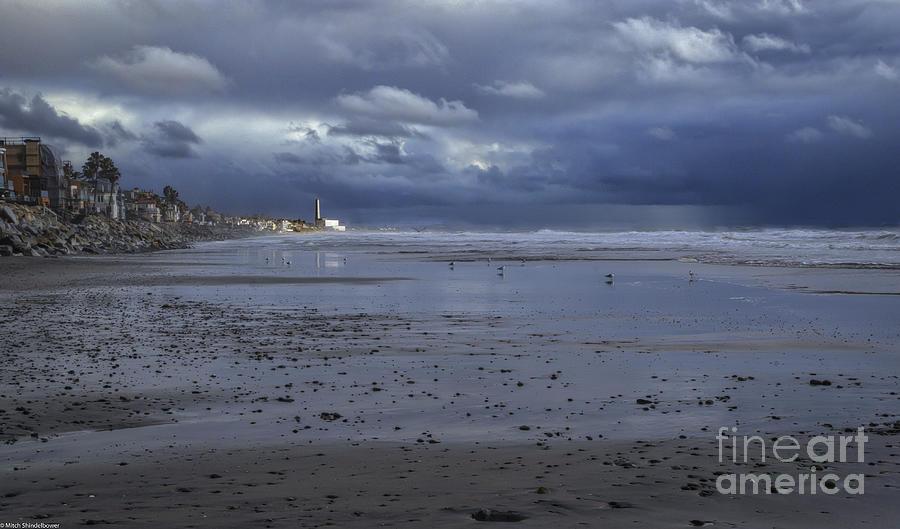 Down The Beach by Mitch Shindelbower